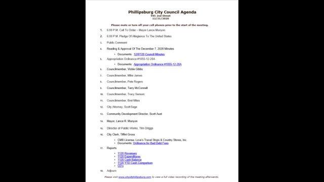 City Council Meeting 12/21/2020