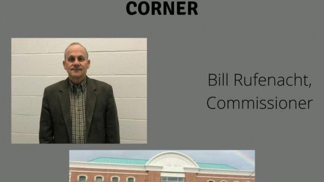 Commissioners Corner Commissioner Bill Rufenacht
