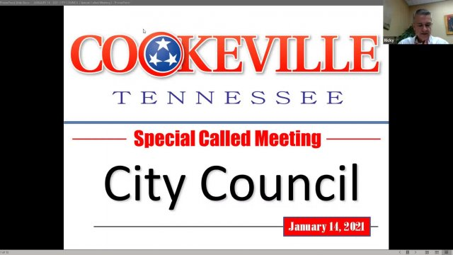 Special City Council Meeting - January 14, 2021