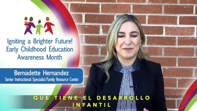 Early Childhood Education Awareness Month - Bernar