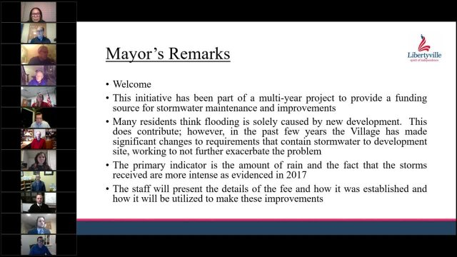 Stormwater Utility Fee Town Hall