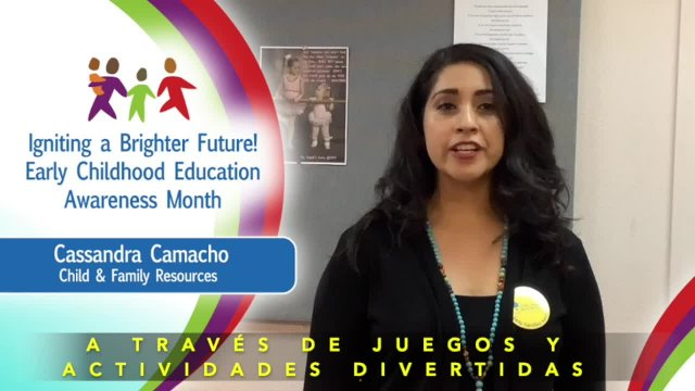 Early Childhood Education Awareness Month Cassandr