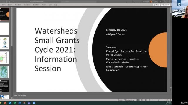 Small Grants Info Session 2021