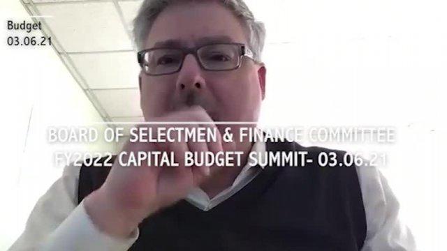 Sel./FinCom Capital Budget 3-6-2021