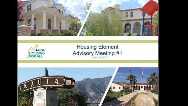 Housing Element Advisory Committee 3-10-21