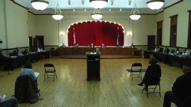 Village of La Grange Board Meeting 3/8/2021