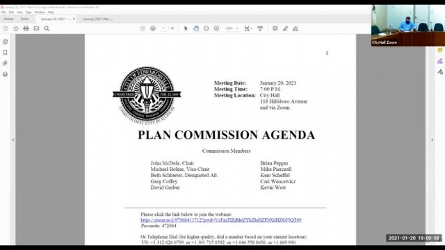 Plan Commission 2021