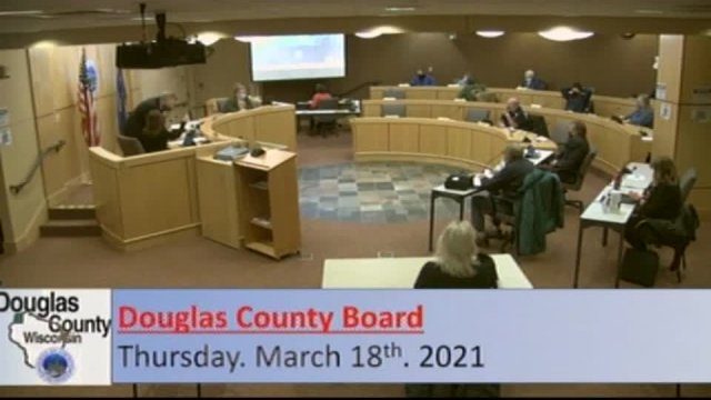 March 18, 2021 County Board