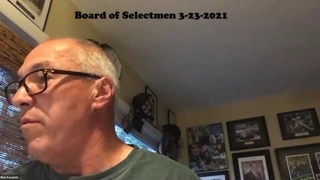 Board of Selectmen 3-23-2021