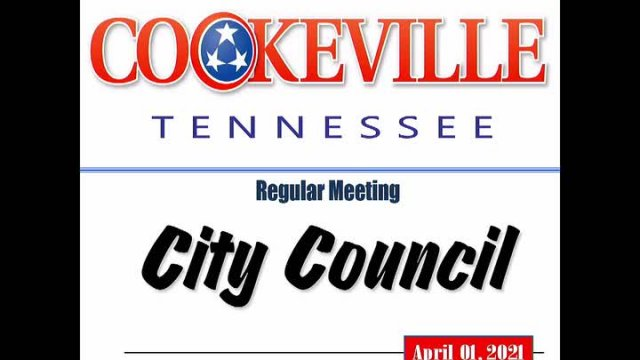 City Council Meeting April 01, 2021