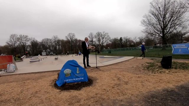 Carl W. Saldutti, Jr. Skatepark Dedication Ceremon