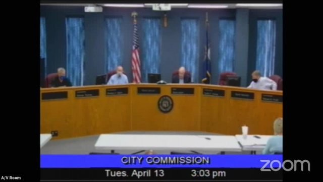 Board of Commissioners Meeting - April 13, 2021