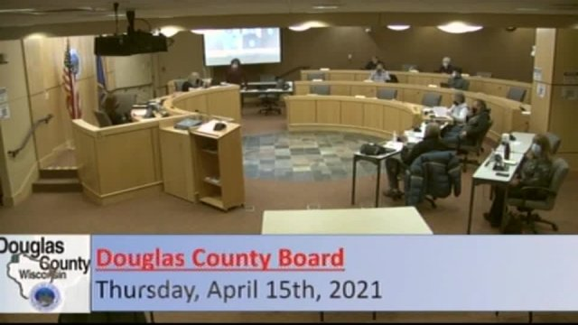 April 15, 2021 County Board