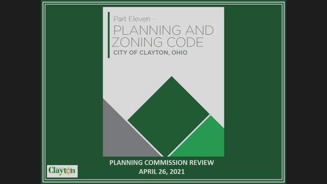 04-26-2021 Plan Comm - Zoning Code Update
