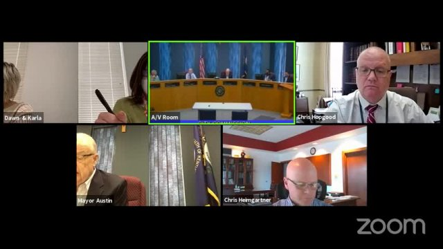 Board of Commissioners Meeting - April 27, 2021