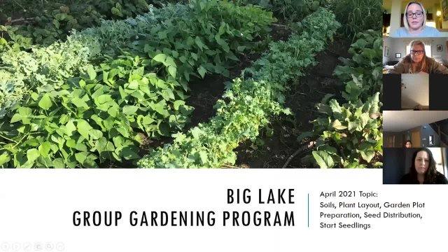 Gardening Workshop April 27, 2021