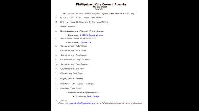 City Council Meeting 05/03/2021