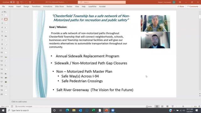 Sidewalk Replacement Program - May 6, 2021