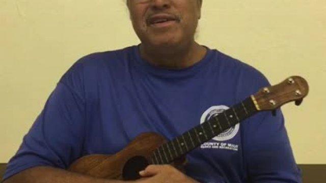 Ukulele Play Molokai Slide Part 1