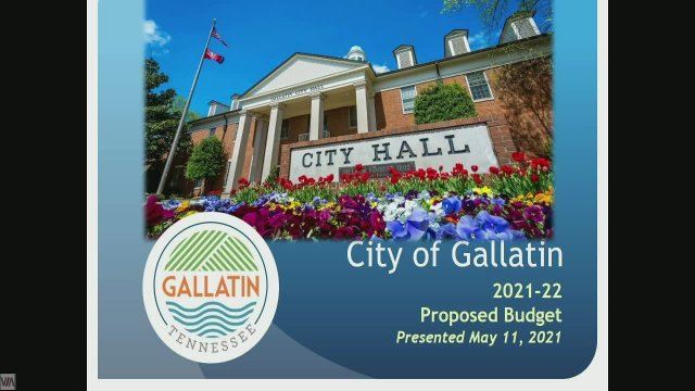 5-11-2021 Gallatin City Council Work Session