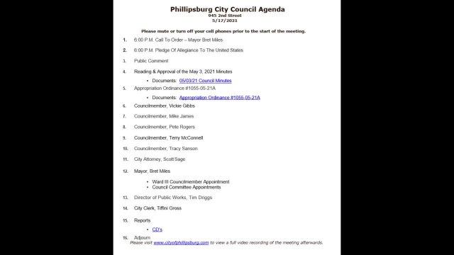 City Council Meeting 05/17/2021