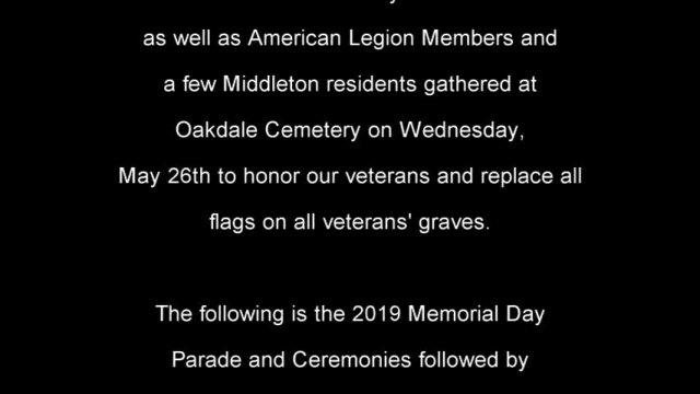 2021 Memorial Day Tribute