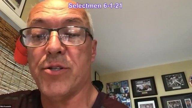 Board of Selectmen 6-1-2021