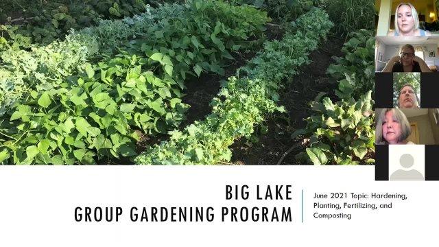 Gardening Workshop June 8, 2021