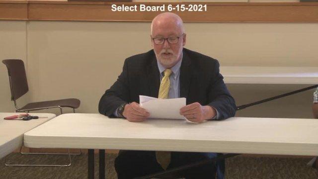 Select Board 6-15-2021