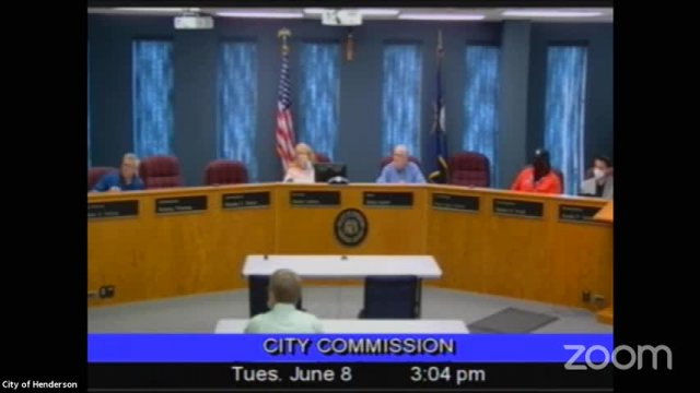 Board of Commissioners Meeting - June 8, 2021