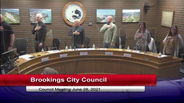 June 28, 2021 City Council Meeting