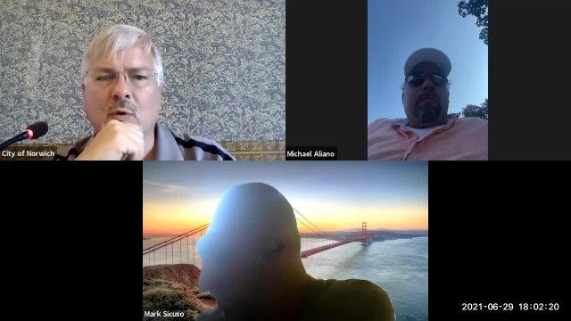 2021-06-29 Harbor Management Meeting