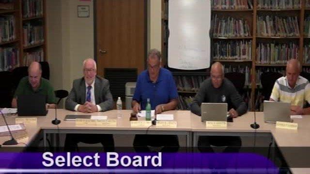 Select Board 7-13-2021
