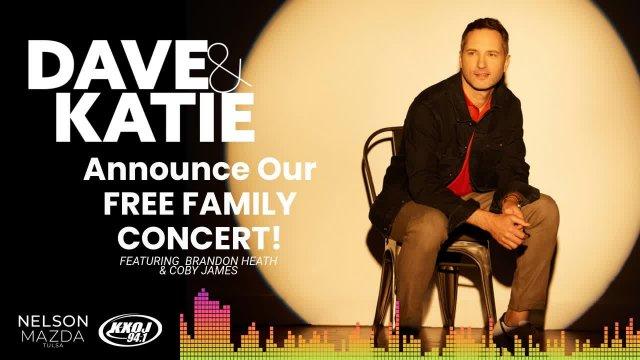 Concert Announcement - Brandon Heath