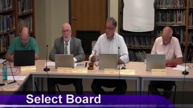 Select Board 7-19-2021