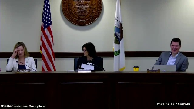Commissioners' Meeting 07.22.2021
