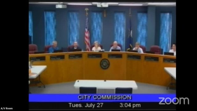Board of Commissioners Meeting - July 27, 2021