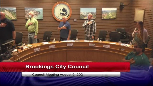 August 9, 2021 City Council Meeting