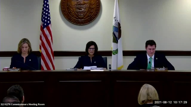Commissioners' Meeting 08.12.2021