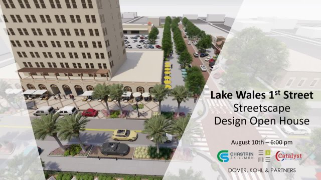 Lake Wales First Street Design Presentation