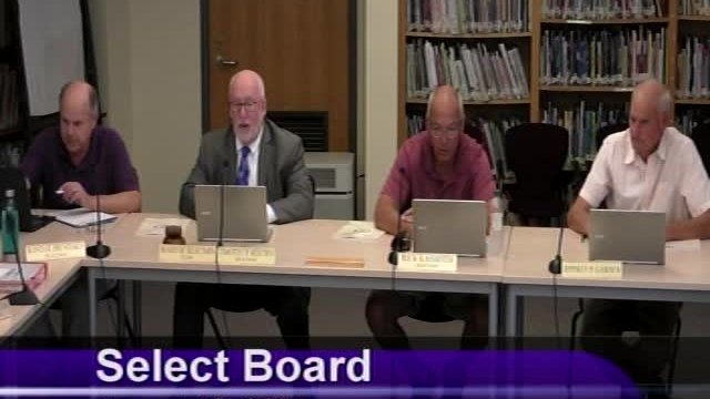 Select Board 8-17-2021