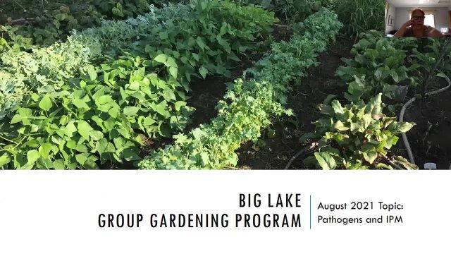 Gardening Workshop August 17, 2021