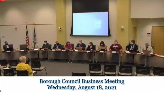 August 18 Business Meeting