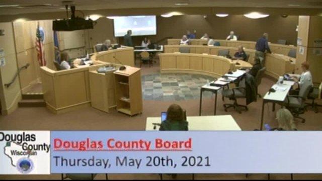 May 20, 2021 County Board