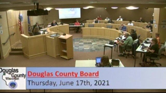 June 17, 2021 County Board