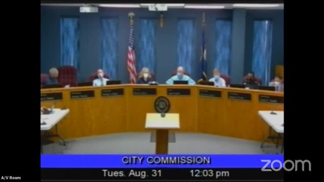 Board of Commissioners Meeting - August 31, 2021