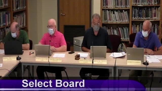 Select Board 9-7-2021