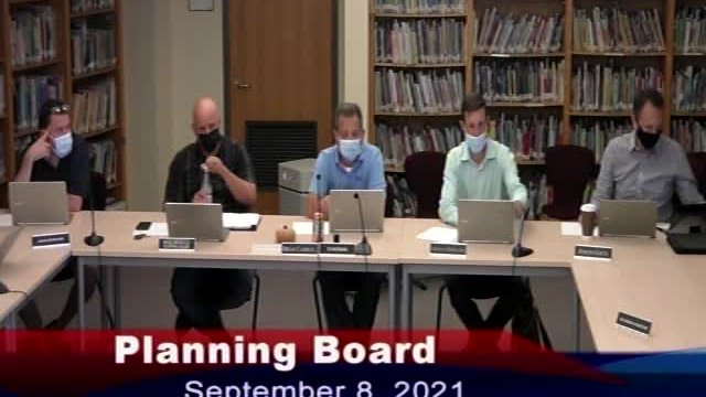 Planning Board 9-8-2021