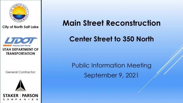 9-9-21 Main Street Video Recording