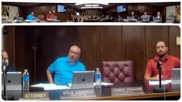 Snyder City Council Meeting September 13, 2021